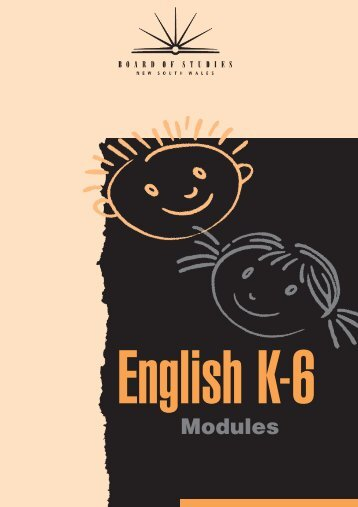 English modules.pdf - K-6 Educational Resources