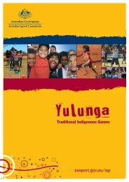 Traditional Indigenous Games ausport.gov.au/isp - Australian Sports ...