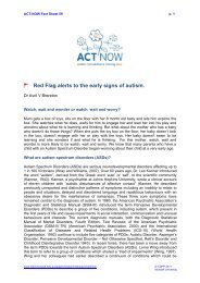 ACT-NOW Fact Sheet 59 P. 1 - Faculty of Medicine, Nursing and ...