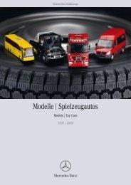 Modelle | Spielzeugautos - Mercedes-Benz in België