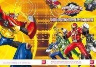 Der Power Rangers RPM Fanguide mit den coolsten Toys und ...