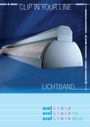 CLIP IN YOUR LINE LICHTBAND - Intercolux AG