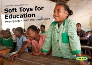 Soft Toys for Education - Ikea