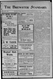 thr brewster standard. - Northern New York Historical Newspapers