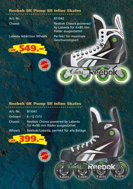Reebok 6K Pump Roller Hockey Skate