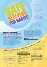 Safe Sleeping for Babies - Sids and Kids