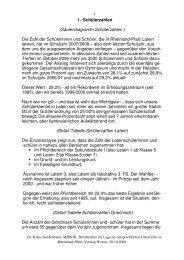 Vortrag DAV Worms 28-10-2008 - Gymnasien in Rheinland-Pfalz