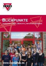 Ausgabe 2011 Jahresheft - CVJM Pfalz eV