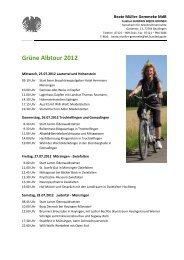 Grüne Albtour 201 - Beate Müller-Gemmeke