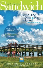 Come Dine, Shop &Play with us! - Sandwich Chamber of Commerce