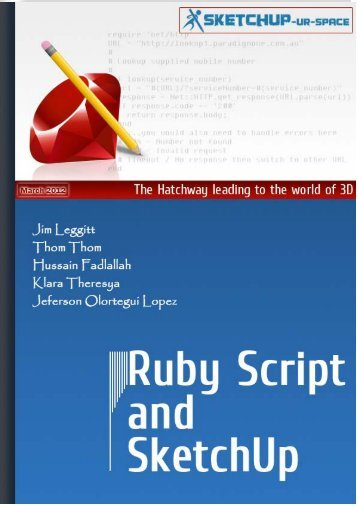 Ruby Script and Sketchup - Sketchup Ur Space