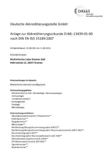 oakks - Medizinisches Labor Bremen