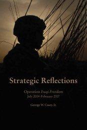 Strategic Reflections