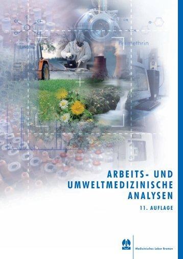 arbeits- und umweltmedizinische analysen - Medizinisches Labor ...