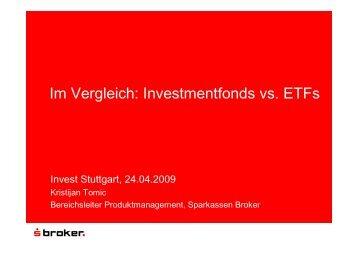 04 Invest 2009 Fonds vs. ETFs [Read-Only] - Börse Frankfurt
