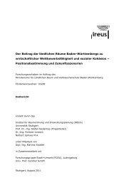 Der Beitrag der ländlichen Räume Baden-Württembergs zu ...