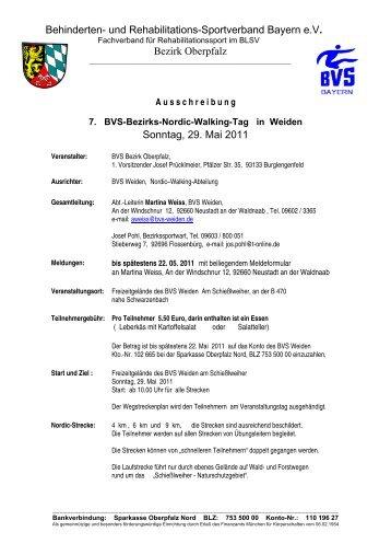 Ausschreibung - Bvs-waldsassen.de