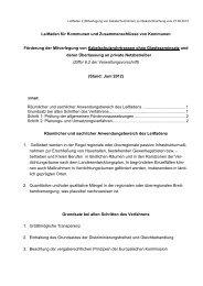 Leitfaden 2 - Ministerium für Ländlichen Raum und ...