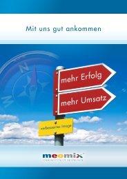 Mit uns gut ankommen - meomix GmbH