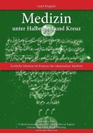 Propach, Gerd - Medizin unter Halbmond und Kreuz - MMH/MMS