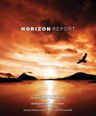 Horizon Report 2010 - New Media Consortium