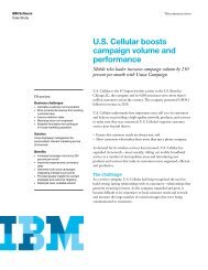 U.S. Cellular boosts campaign volume and performance