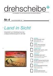 Land in Sicht - Drehscheibe