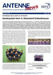 Bundespokal Nord in Bissendorf/Schledehausen - NVV