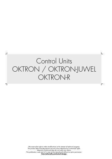 Control Units OKTRON / OKTRON-JUWEL OKTRON-R - About CSII ...