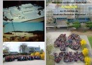 Festschrift - Max-Ulrich-von-Drechsel Realschule Regenstauf