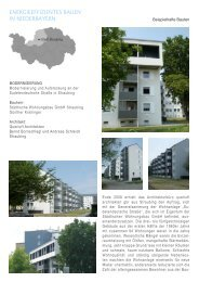 energieeffizientes bauen in niederbayern - Die Regierung von ...