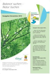 GG-Verzeichnis 2013_D_26.10.:Layout 1.qxd - Nationalpark Eifel