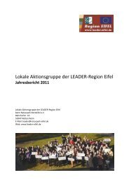 Jahresbericht LAG Eifel 2011herunterladen [PDF, 2.7 MB]