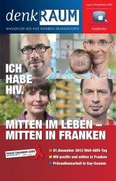 01.Dezember 2012 Welt-AIDS-Tag - AIDS-Hilfe Nürnberg