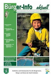 Ausgabe Mai 2009 - Stadt Schleiden