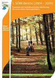 1. SÖM-Bericht (2004-2010) - Nationalpark Eifel
