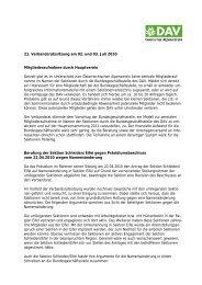 Protokoll - Sektion Bad Hersfeld