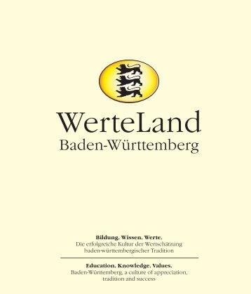WerteLand Baden-Württemberg - PR Presseverlag Süd GmbH