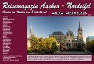Reisemagazin Aachen - Nordeifel - Reisetipps-Europa