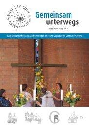 Gemeindebrief - Philippus-Kirchgemeinde Dresden-Gorbitz