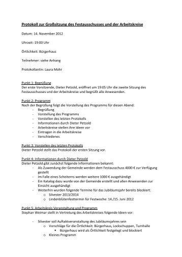 Protokoll - schenklengsfeld.info