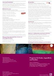 Kinder-, Jugend- und Familienflyer (pdf) - Deutsche Guggenheim