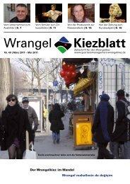 Nr. 40 | März 2011 - Quartiersmanagement Wrangelkiez