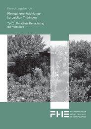 Kreisverband der Gartenfreunde Schleiz eV - Fachhochschule Erfurt