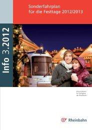 Sonderfahrplan für Weihnachten und Silvester im pdf ... - Rheinbahn
