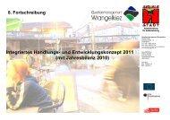 Integriertes Handlungs- und Entwicklungskonzept 2011 (mit ...