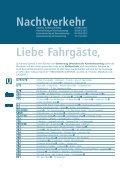 Sonderfahrplan Karneval - Rheinbahn - Seite 3