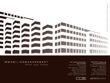 Immobilienmanagement downloaden (PDF) - urbitecten