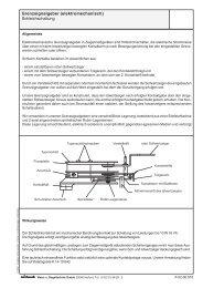Grenzsignalgeber (elektromechanisch) Schleichschaltung - Wiebrock