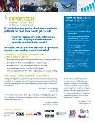 ExporTech 2012-2013 - Export.gov